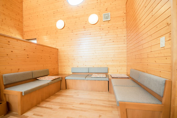 談話スペース(2階)