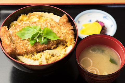 カツ丼(卵とじ)