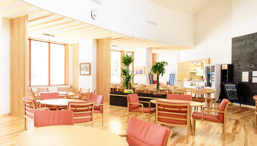 カフェコーナー写真