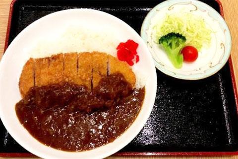 カツカレー(サラダ付)