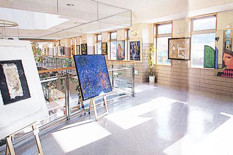 ぽっぽ絵画館