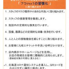 当館の新型コロナウイルス感染予防対策について